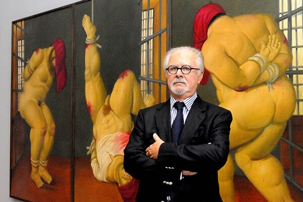 Fernando Botero Colombian figurative artist and sculptor