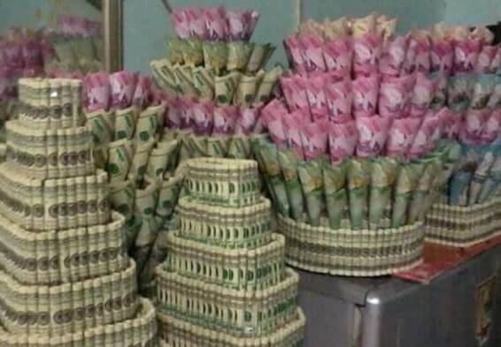 If a bouquet of flowers is 100 dollars worth of dollars, then surely the world will dare