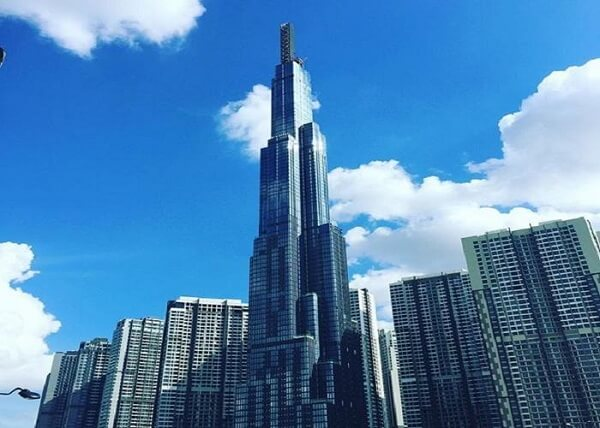 Landmark 81 - Vietnam's tallest building - 208 Nguyen Huu Canh, Ward 22, Binh Thanh District, Ho Chi Minh City