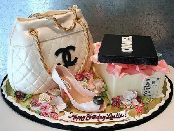 What do you think about a cake that has all the same markings as the chanel?