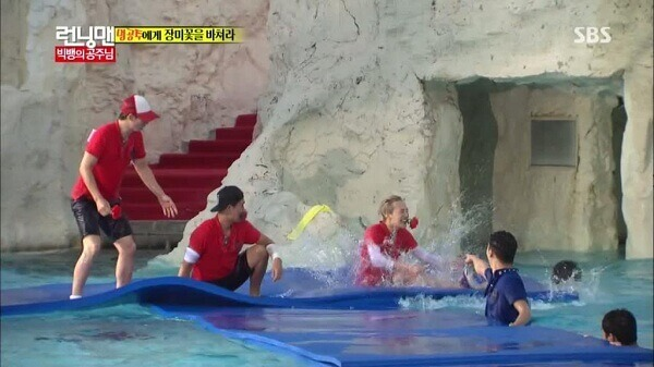 The most exciting Running man running water games