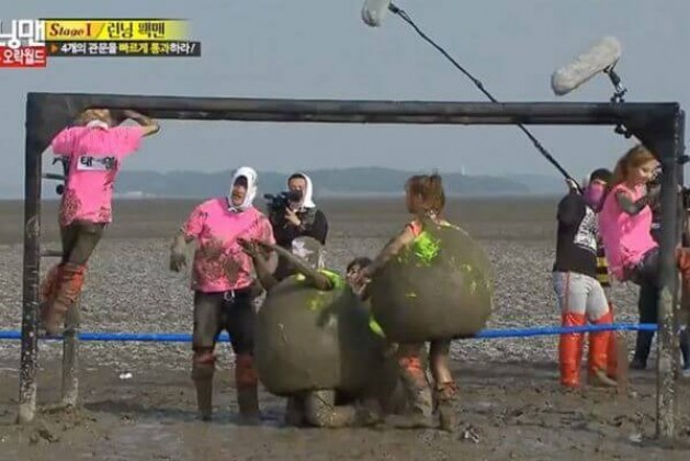 List of 6 the best and funniest Running Man play under mud and under water