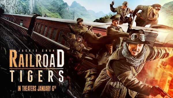 Best Chinese comedies - Railroad Tigers (2016)