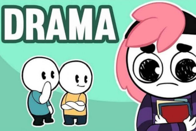 What is drama in youth Facebook, Drama Queen, Drama King mean?