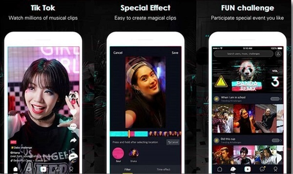The number of TikTok users increased rapidly and was among the most downloaded apps on the App Store