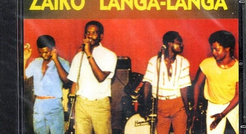 Zaiko Langa Langa popular music group in Congo-Kinshasa