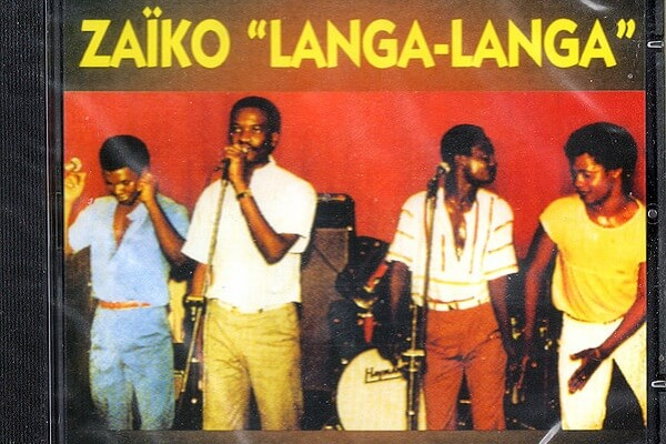Zaiko Langa Langa popular music group in Congo-Kinshasa