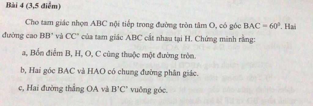 bai-4-3-5-diem-cho-tam-giac-nhon-abc-noi-tiep-trong-duong-tron-tam-o-co-goc-bac-60-hai-duong-cao