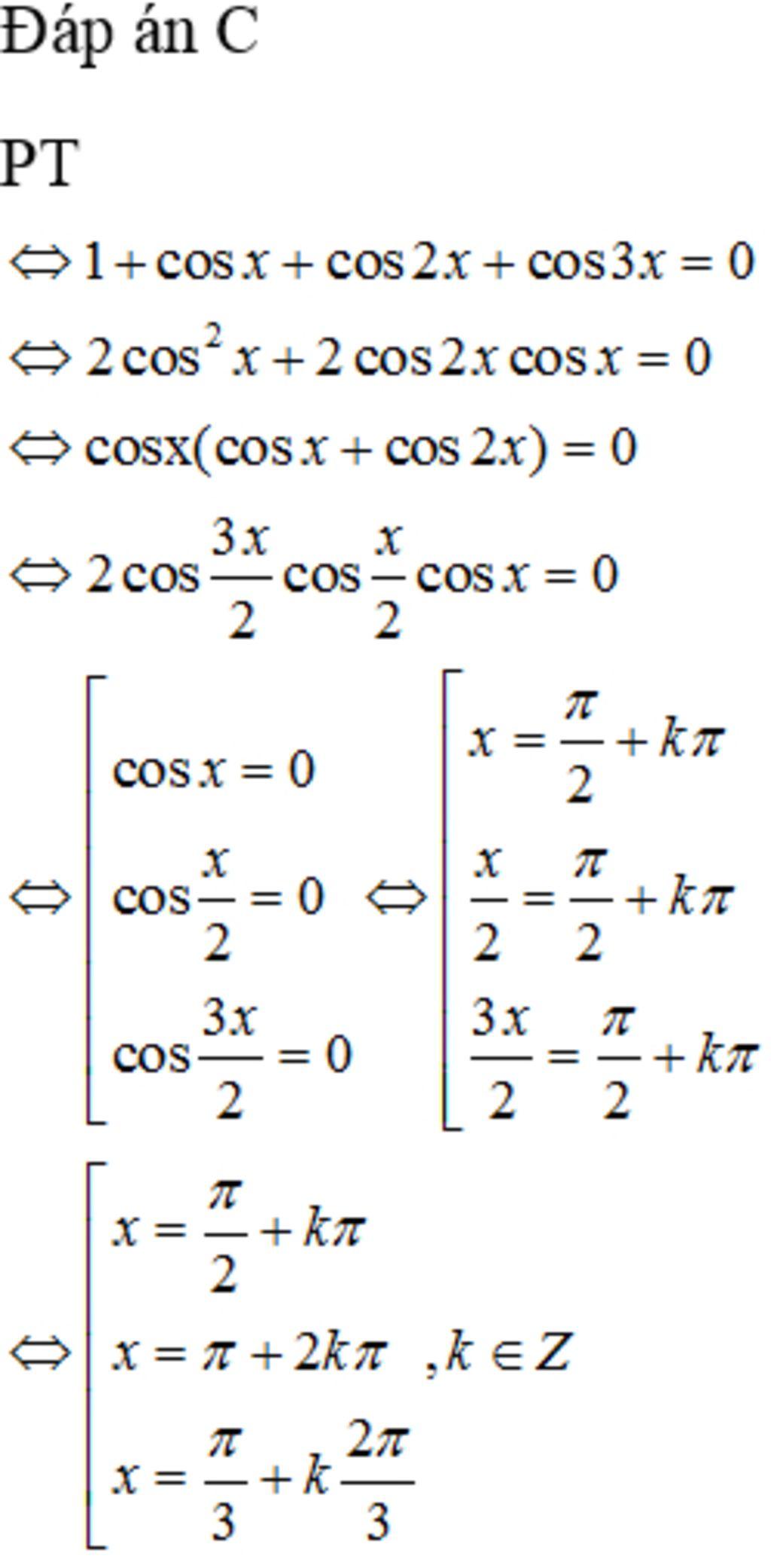 1-cos-cos2-cos3-0